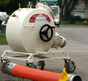 Broken Sewer Pipe Philadelphia